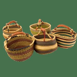 Semaine tastemaker Paul Stamets uses mushroom hunter basket