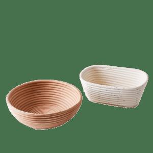 Semaine tastemaker Skye Gyngell uses brotform bread rising baskets by Frieling