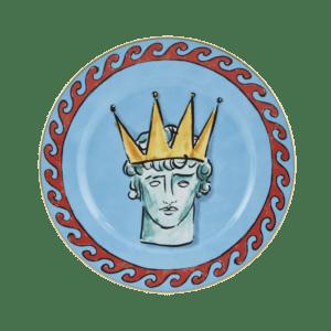 Semaine Tastemaker Luke Edward Hall Crown Dinner Plate