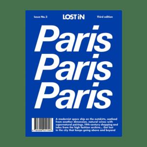 Semaine tastemaker Sabine Getty reads the Paris, Paris, Paris by LOSTin