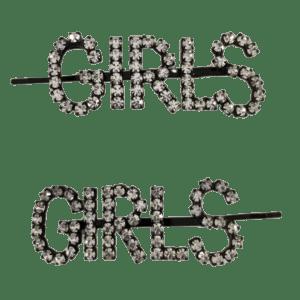 Semaine tastemaker Pixie Geldof wears crystal hair slides