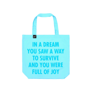 Semaine shop: special edition ocean bag - artist series by Parley x Jenny Holzer