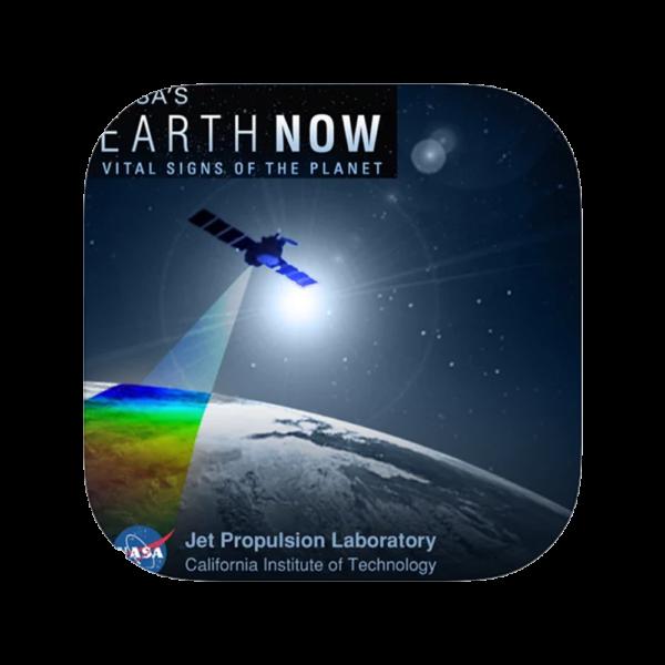 Semaine tastemaker Paris Hilton uses earth now app by NASA