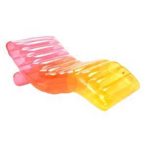 Semaine tastemaker Paris Hilton recommends rainbow chaise lounger