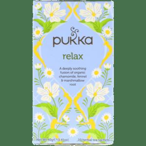 Semaine tastemaker Sigrid drinks this Pukka tea