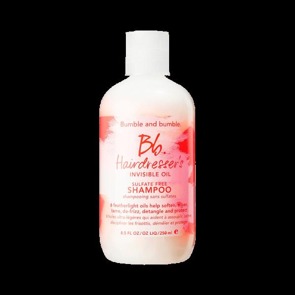 Semaine tastemaker Christiaan enjoys this bumble and bumble shampoo