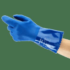 Semaine Tastemaker Daniel Arsham Blue PVC Gloves